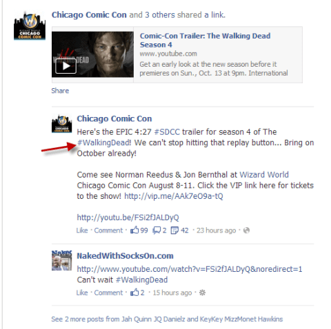 Ways Marketers Can Use Facebook Hashtags 1